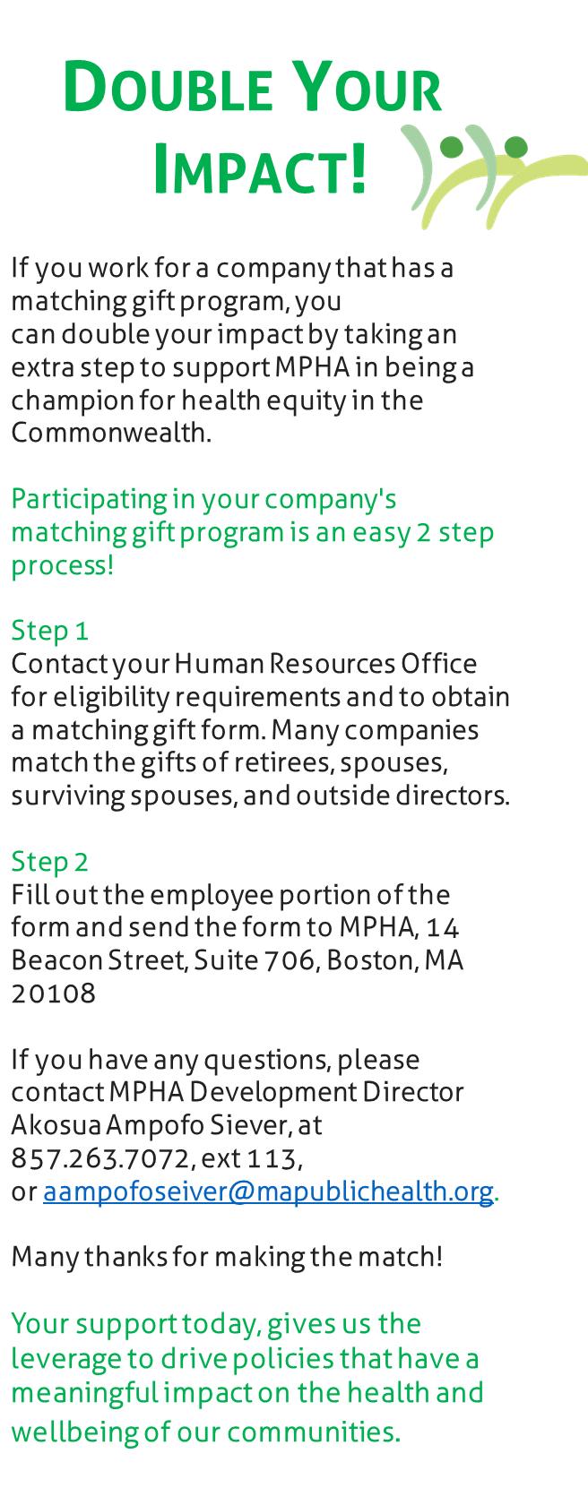 Donate | Massachusetts Public Health Association